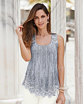 Together Beaded Top