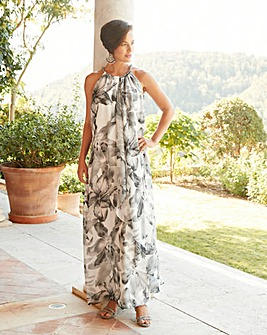 Joanna Hope Print Swing Maxi Dress