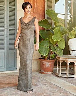 Joanna Hope Beaded Maxi Dress