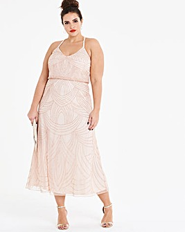 Joanna Hope Beaded Maxi Dress