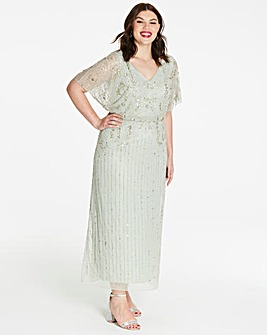 548fc61003 Joanna Hope Beaded Maxi Dress
