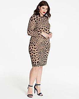 Joanna Hope Sequin Shift Dress