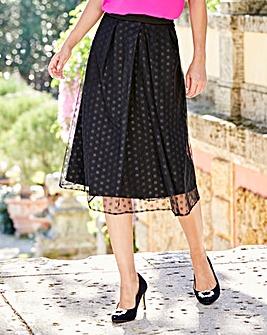 Joanna Hope Mesh Skirt