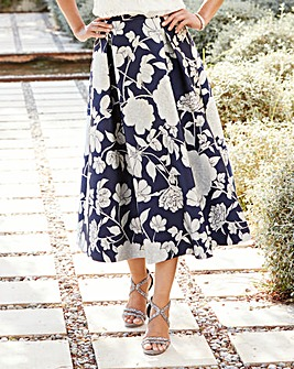Joanna Hope Jacquard Prom Skirt
