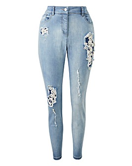 Joanna Hope Embellished Jeans