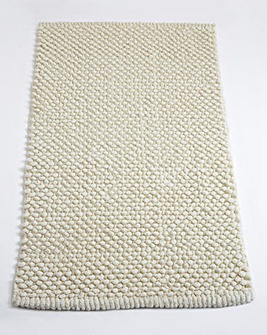 Cotton Bobble Bath Mats - Cream