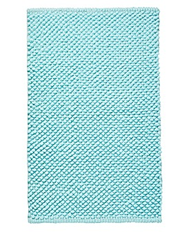 Cotton Bobble Bath Mats - Duck Egg
