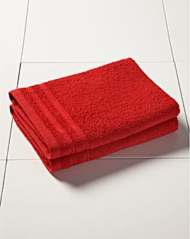 Everyday Value Towel Range - Red