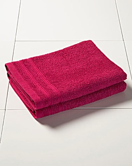 Everyday Value Towel Range - Fuchsia