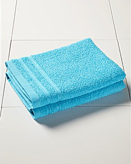 Everyday Value Towel Range - Aqua