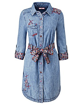Joe Browns Sexy Denim Shirt Dress