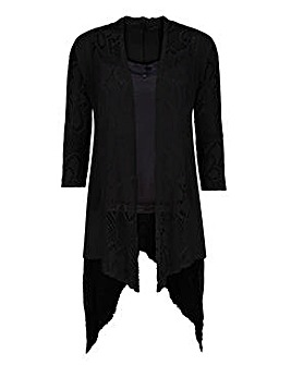 Joe Browns Longline Crochet Cardigan