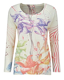 Joe Browns Floral Printed Jumper