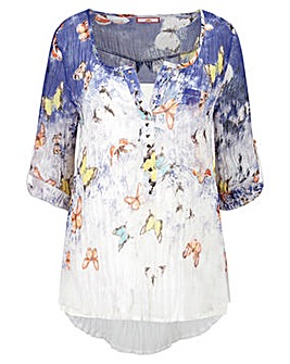 Joe Browns Crinkle Butterfly Blouse