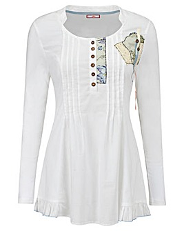 Joe Browns Jersey Panelled Blouse