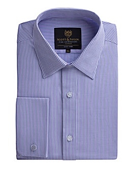 Scott & Taylor Lilac Stripe
