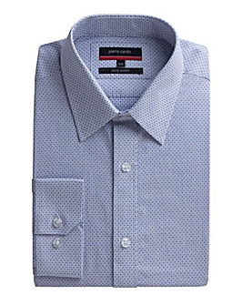 Pierre Cardin Check Dobby Shirt