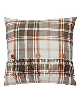Lorraine Kelly Forest Glen Check Cushion