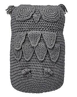 Lorraine Kelly Knitted Owl Cushion