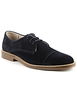 Jack Jones Navy Suede Lace Up Shoe