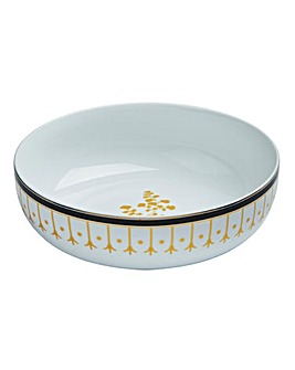 Portmeirion Modern Metallic Serving Bowl