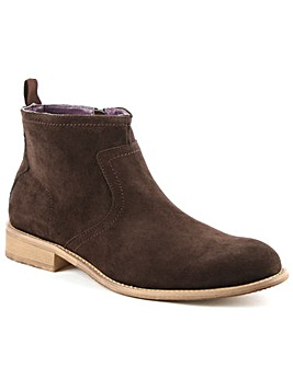 Gucinari Brown Suede Ankle Boot