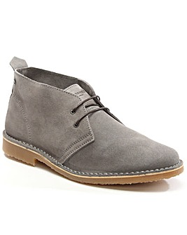 Jack Jones Grey Suede Desert Boot