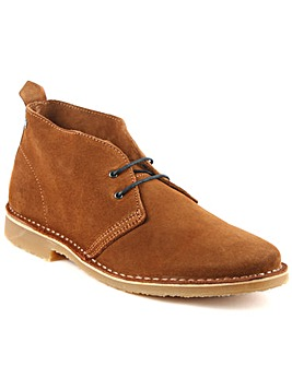 Jack Jones Tan Suede Lace Up Desert Boot