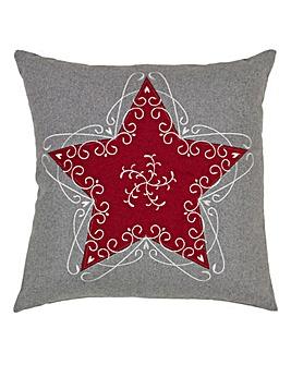 Felt Star Cushion