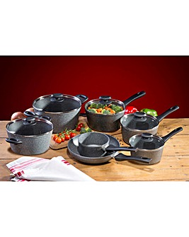 Hairy Bikers Shot Blast 7 Piece Pan Set