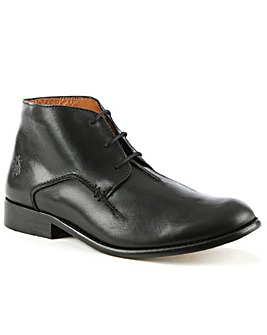 Fly London Black Leather Ankle Boot