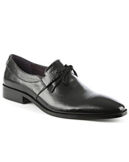 Gucinari Black Lace Up Dress Shoe