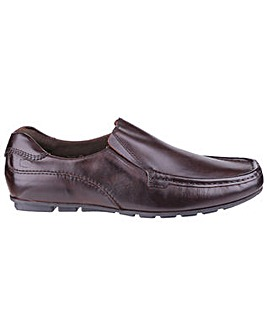 Base London Cuba Slip-on Moccasin Shoe