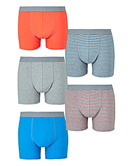 Capsule Stripe Pack of 5 Hipsters