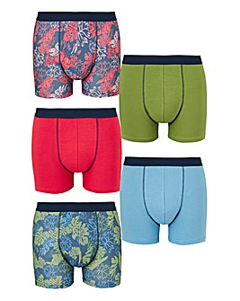 Capsule Floral Pack of 5 Hipsters