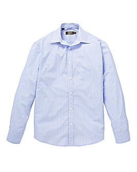 W&B London Blue Stripe L/S Shirt L
