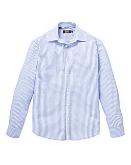 W&B London Blue Stripe L/S Shirt L