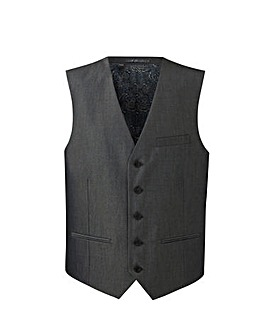 W&B London Charcoal Tonic Suit Waistcoat