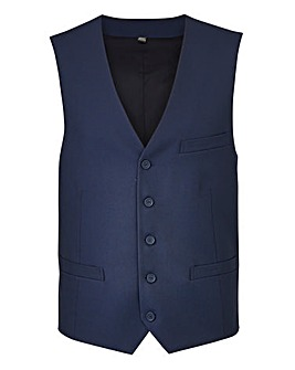 W&B London Navy Value Suit Waistcoat R