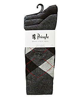 Pringle Pack of 3 Socks