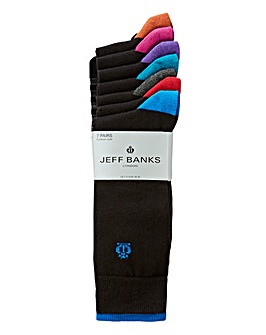 Jeff Banks Pack of 7 Socks