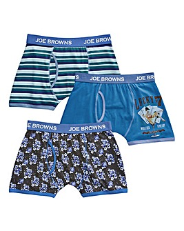 Joe Browns Pack of 3 Hipsters