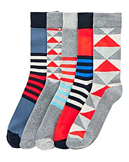 Jack & Jones Pack 5 Geo Socks