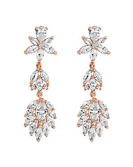 Alan Hannah floral drop earring