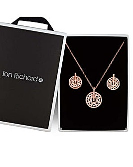 Jon Richard cut out jewellery set