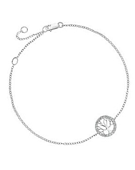 Simply Silver tree of life bracelet