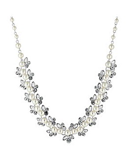 Alan Hannah botanical pearl necklace