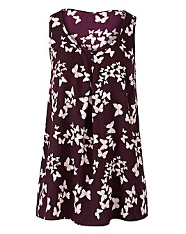 Mulberry Printed Vest Top