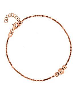 Simply Silver bead bracelet