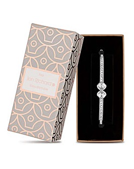Jon Richard crystal infinity bangle